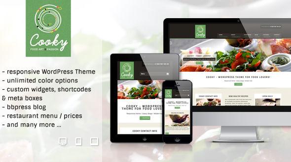 Cooky – Restaurant Responsive WordPress Theme