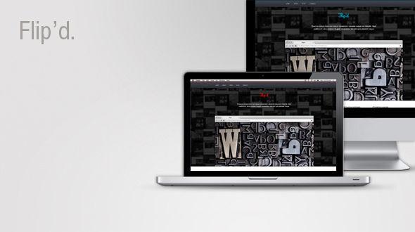 Flip'd – Creative WordPress Theme