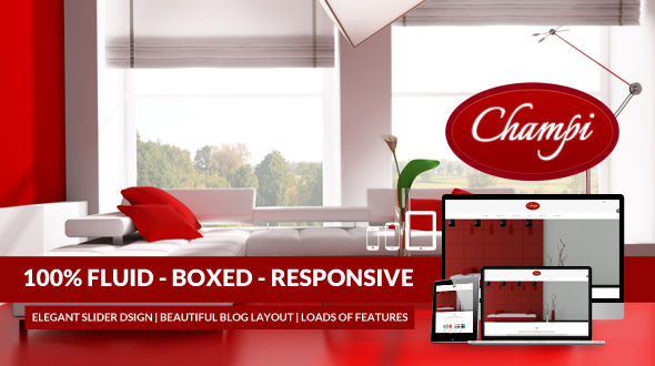 Champi – Responsive ++ Business – Portfolio WP Template