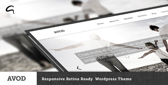 Avod – Responsive Multi-Purpose Theme