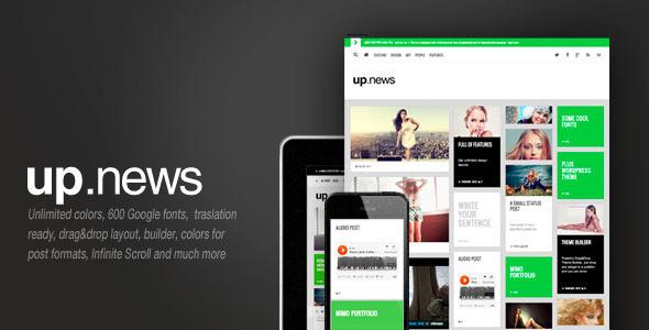 Upnews, Multipurpose Cool Magazine
