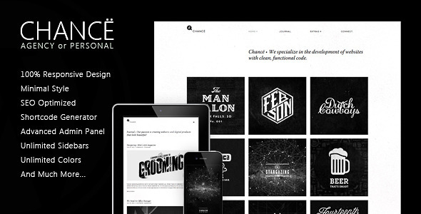Chancë – Responsive WordPress Theme
