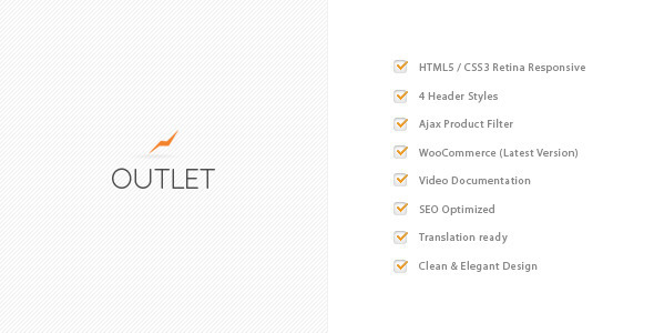 Outlet – Multi-Purpose WooCommerce Theme