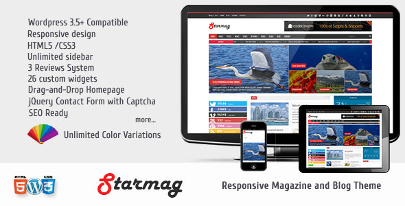 StarMag – News & Magazine Theme