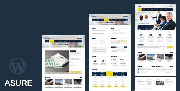 ASURE – Multi Purpose WordPress Theme