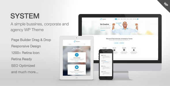 System – Responsive Multi-Purpose Theme