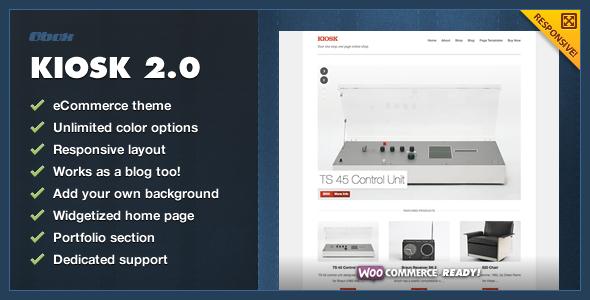 Kiosk 2.0 – Premium WordPress eCommerce Theme