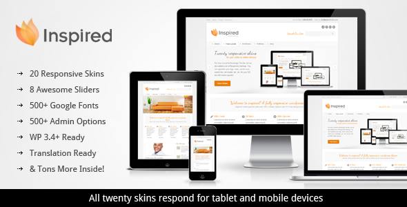 Inspired Responsive Business WordPress Theme
