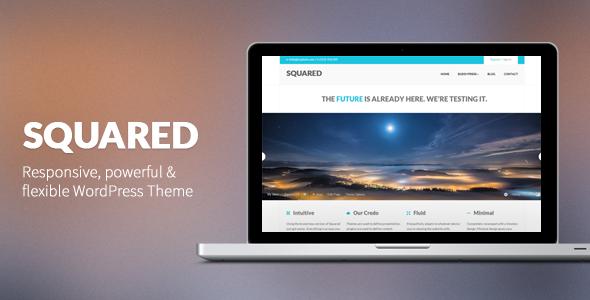 Squared – Responsive WordPress Theme