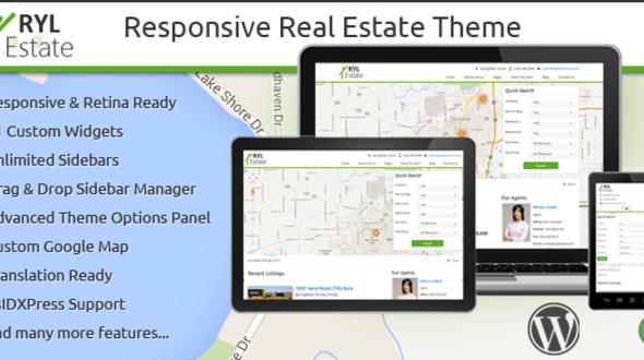RYL Estate – Responsive Real Estate WordPress Theme