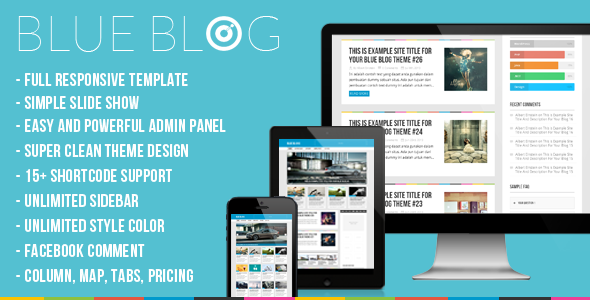 Blog | Blue Blog – Responsive WordPress Blog Theme