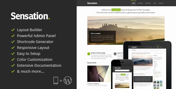 Sensation – Responsive WordPress Theme