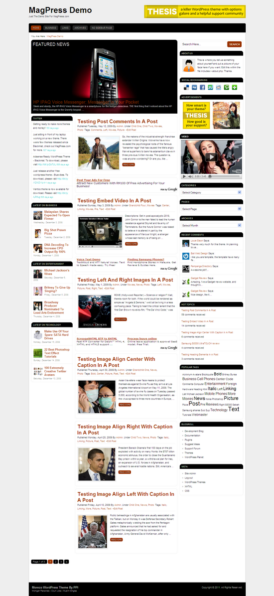 add twitter feed to thesis theme To add tweet button on your website, you can use twitter's official tool to generate the embed code for a button, which you can position on anywhere of your site you want in addition to posts and pages, you can also add the tweet button on the website.