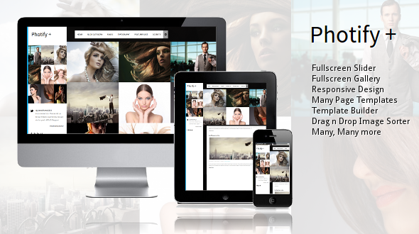 Photify – Responsive WordPress Theme