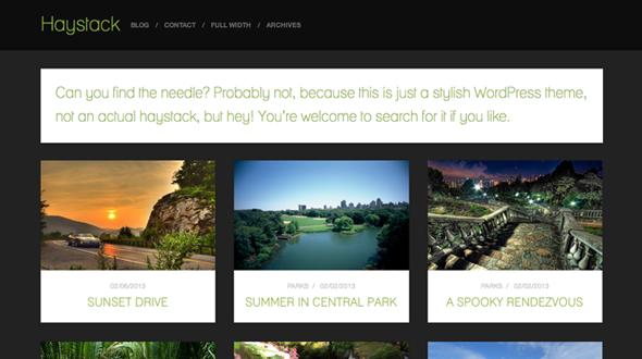 Haystack WordPress Theme