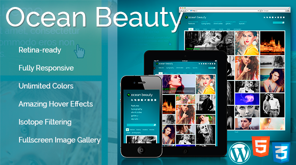 Ocean Beauty Multi-Purpose WordPress Theme