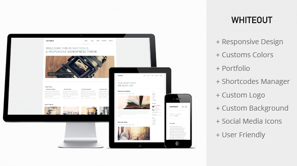 WhiteOut – Premium Responsive WordPress Theme