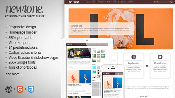 Newtone – Responsive WordPress Theme