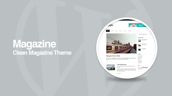 Magazine – Responsive Magazine WordPress Theme