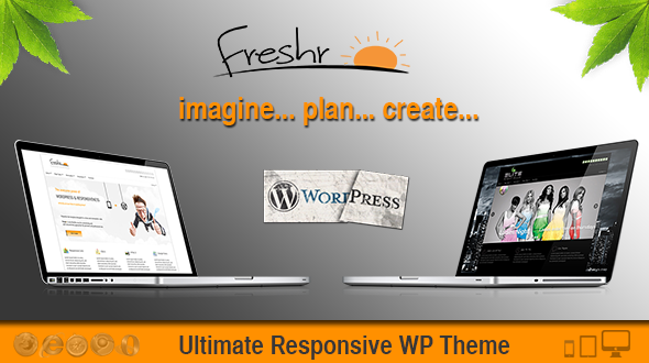 Freshr | Responsive WordPress Theme