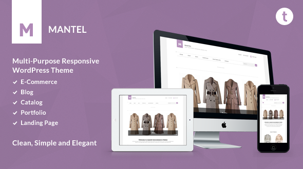 Mantel – Multi-Purpose Responsive Woocommerce Theme