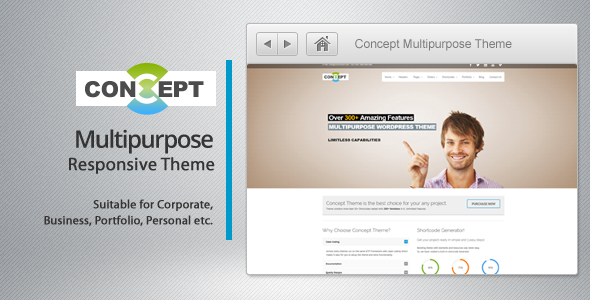 Concept – Multi-Purpose WordPress Theme