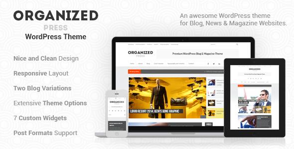 Organized Press – WordPress Blog & Magazine Theme