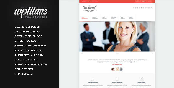 Unlimited – Flexible Responsive Business Theme