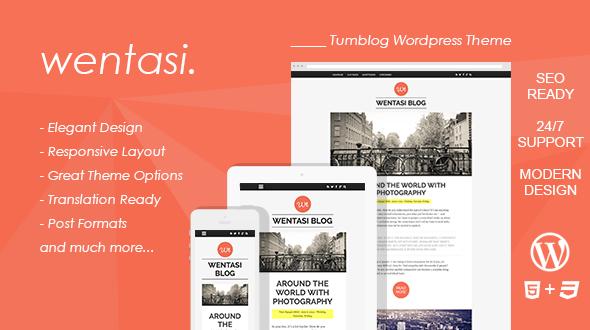 Wentasi : Amazing Tumblog Responsive WordPress Theme