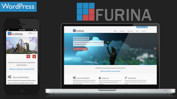 Furina – A Responsive Multipurpose WordPress Theme