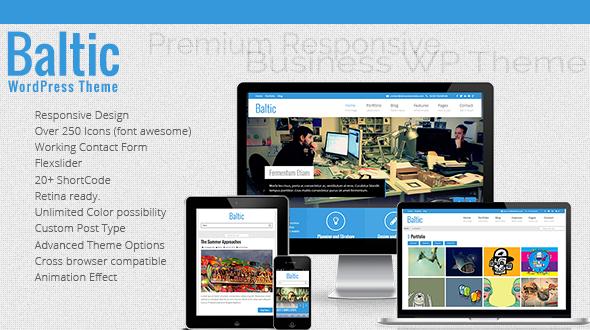 Baltic | Responsive Business WordPress Themes