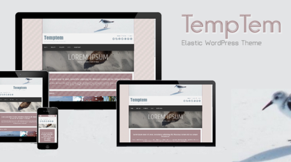 Temptem – Responsive WordPress Theme