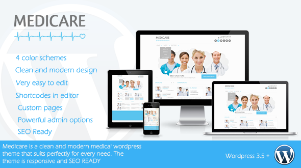Medicare – Responsive Medical WordPress Theme