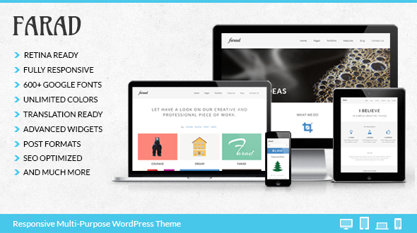 Farad – Multi-Purpose WordPress Theme