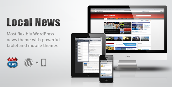 Local News – WP News Theme with Mobile Version