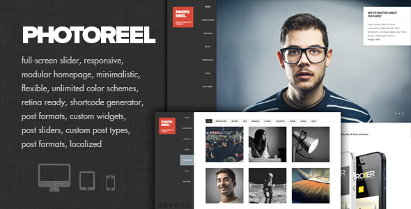 Photoreel – Elegant & Responsive Photography Theme