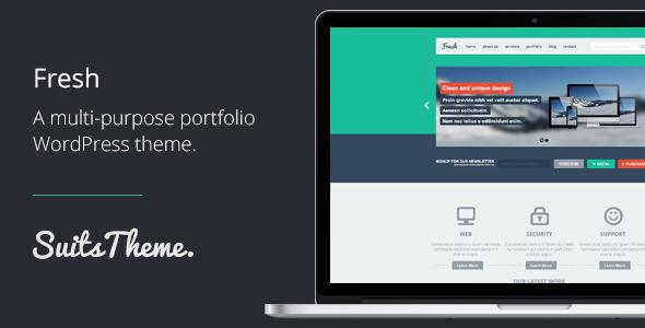Fresh MultiPurpose Flat Responsive WordPress Theme