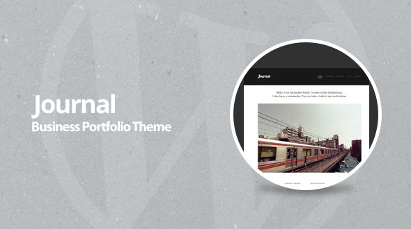 Journal – Responsive Small Business & Portfolio WordPress Theme