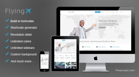 Flying – Responsive Bussines Theme