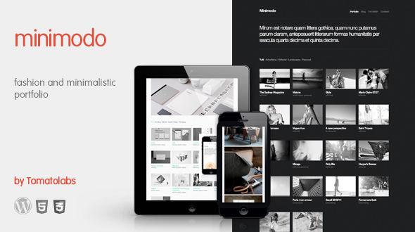 Minimodo: fashion and minimalistic portfolio