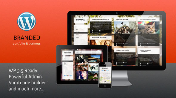 Branded Responsive WordPress Theme