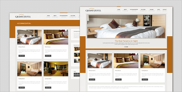 Grand Hotel – Resorts Business WordPress Theme