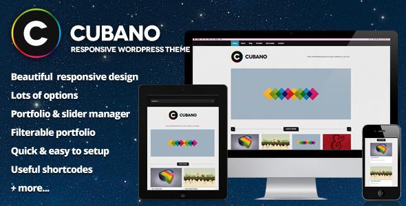 Cubano – Responsive WordPress Portfolio