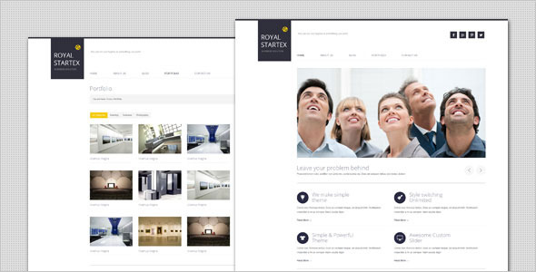RoyalStartex – Minimalist Business WordPress Theme