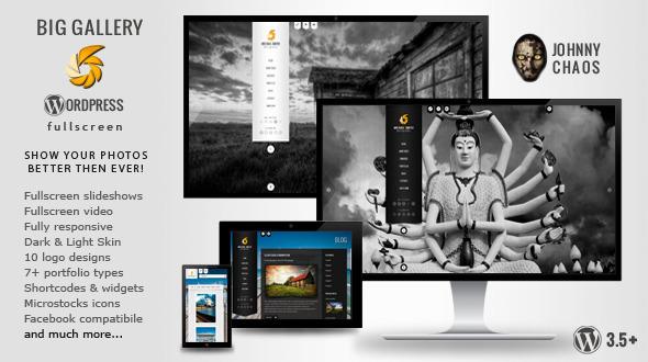 BIG Gallery WP – Fullscreen Photography/Portfolio