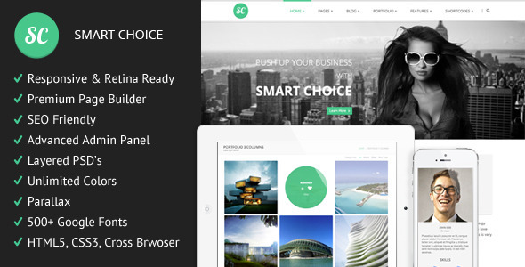 SmartChoice – Responsive Multi-Purpuse Theme