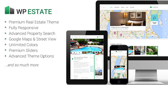 WP Estate Responsive WordPress Theme