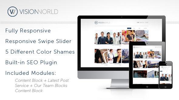 VisionWorld WordPress Theme