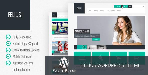 Felius – Responsive Multipurpose WordPress Theme