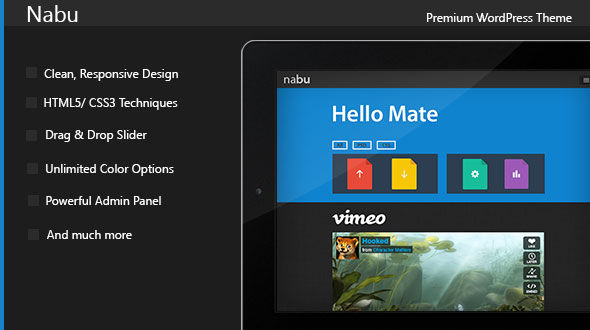 Nabu – Responsive Multi-Purpose Theme